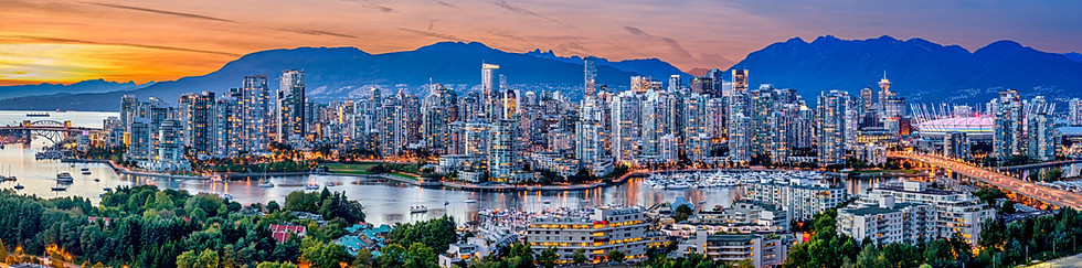 Vancouver BC Skyline