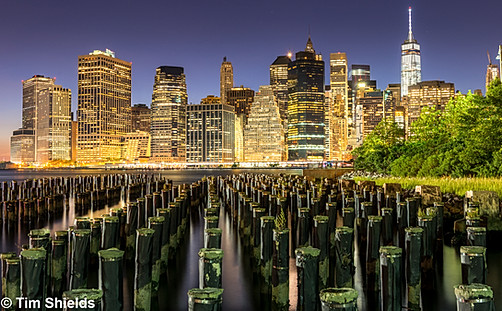 New York City from Brooklyn Park