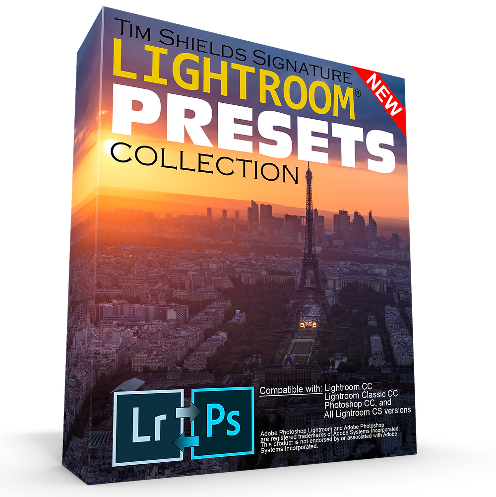 Tim Shields Free Lightroom Presets