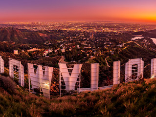 Fastest and easiest Hollywood Sign Hike - and how to photograph a WOW picture at THE BACK of the Hol