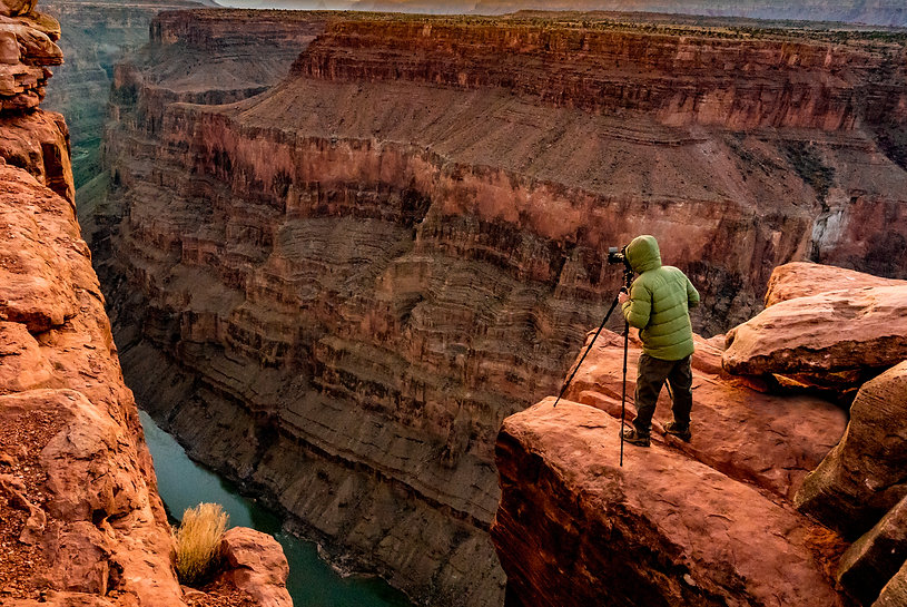 Tim Shields at the Grand Canyon