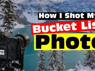 How I Shot My Bucket List Photo - A Short Story Film