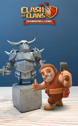 Clash of Clans AR Experience