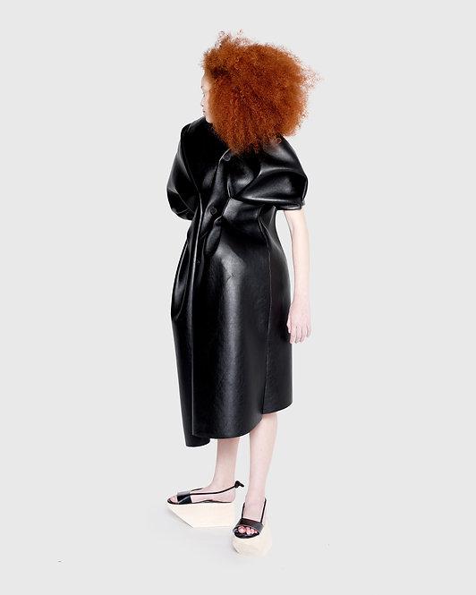 SCULPTED COAT DRESS