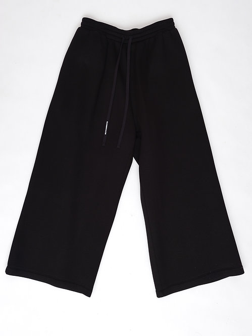 FW19 WIDE LOUNGE PANTS structured cotton / soft rayon