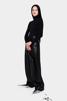 DRAPY WIDE LEG PANTS