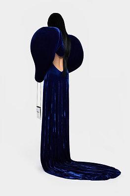 FW20 KEY VELVET DRESS