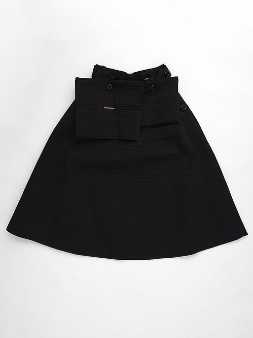 FW19 QUILTED POCKET SKIRT