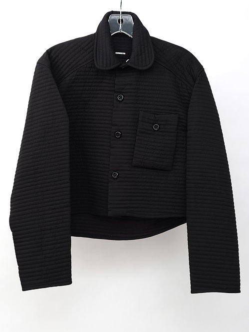 FW19 QUILTED SHIRT JACKET