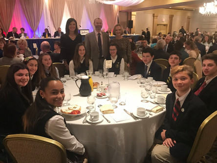 SCSP Students Attend Annual Mayor's Prayer Breakfast