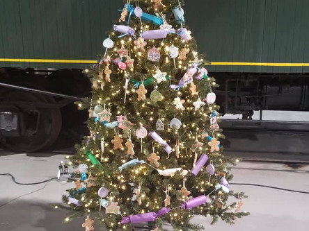 Visit our SCSP Christmas Tree at the Electric City Trolley Museum