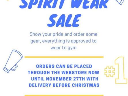 SCSP Spirit Wear Sale