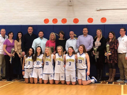 SCSP Honors Our 8th Grade Lady Crusaders