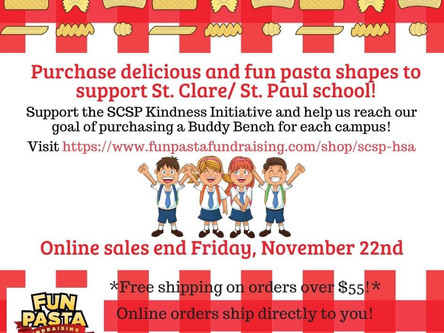 Pasta Fundraiser for Kindness Initiative