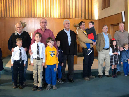 SCSP Primary Campus Veteran's Day Mass and Celebration