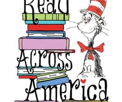 Read Across America:  Monday, March 2 through Friday, March 6