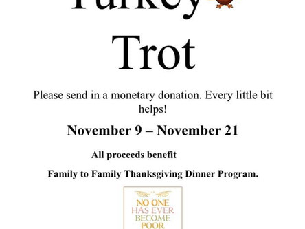 SCSP Student Council Annual Turkey Trot