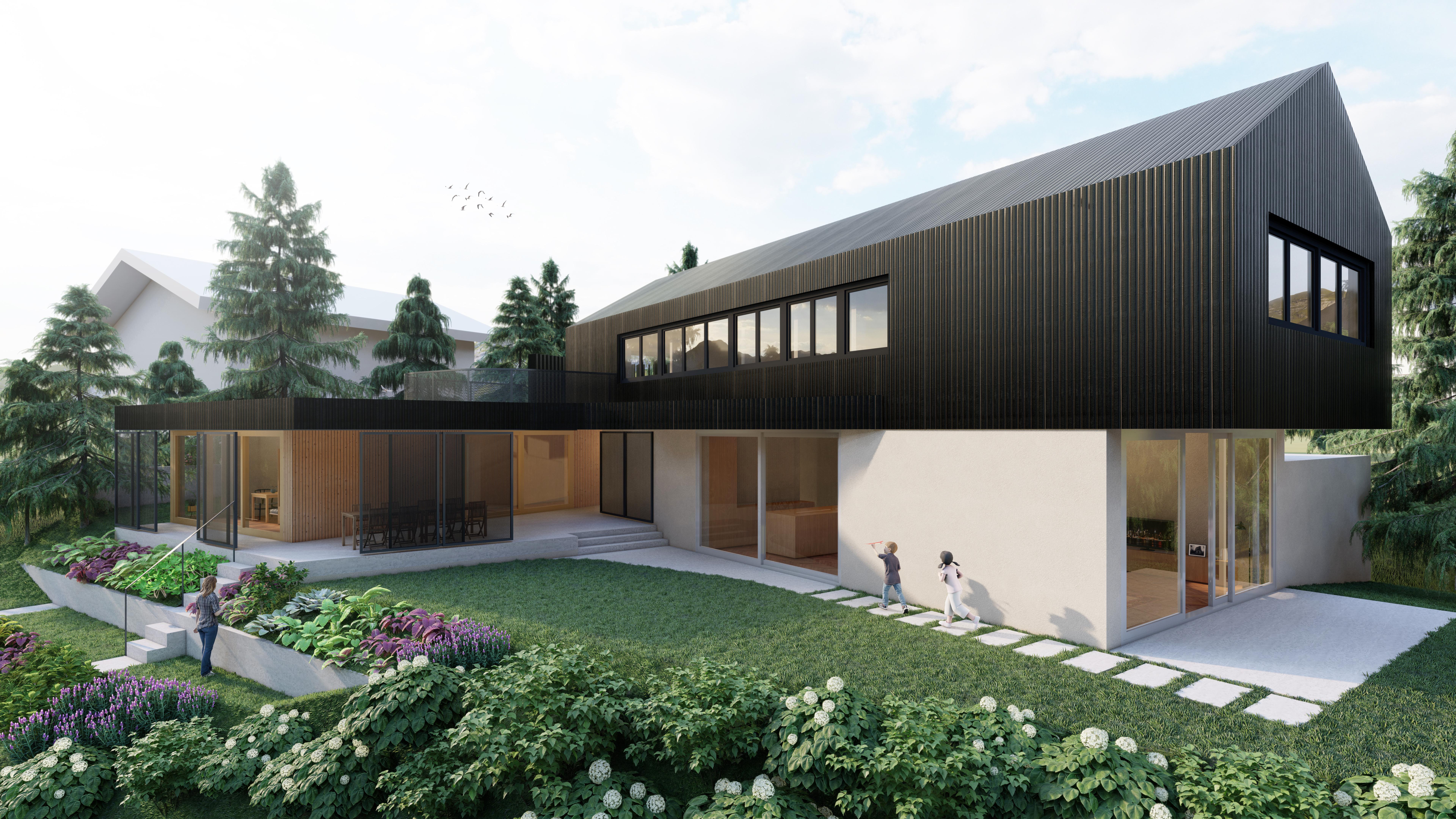 Rendering Wohnhaus LEM   ROECK Architekten