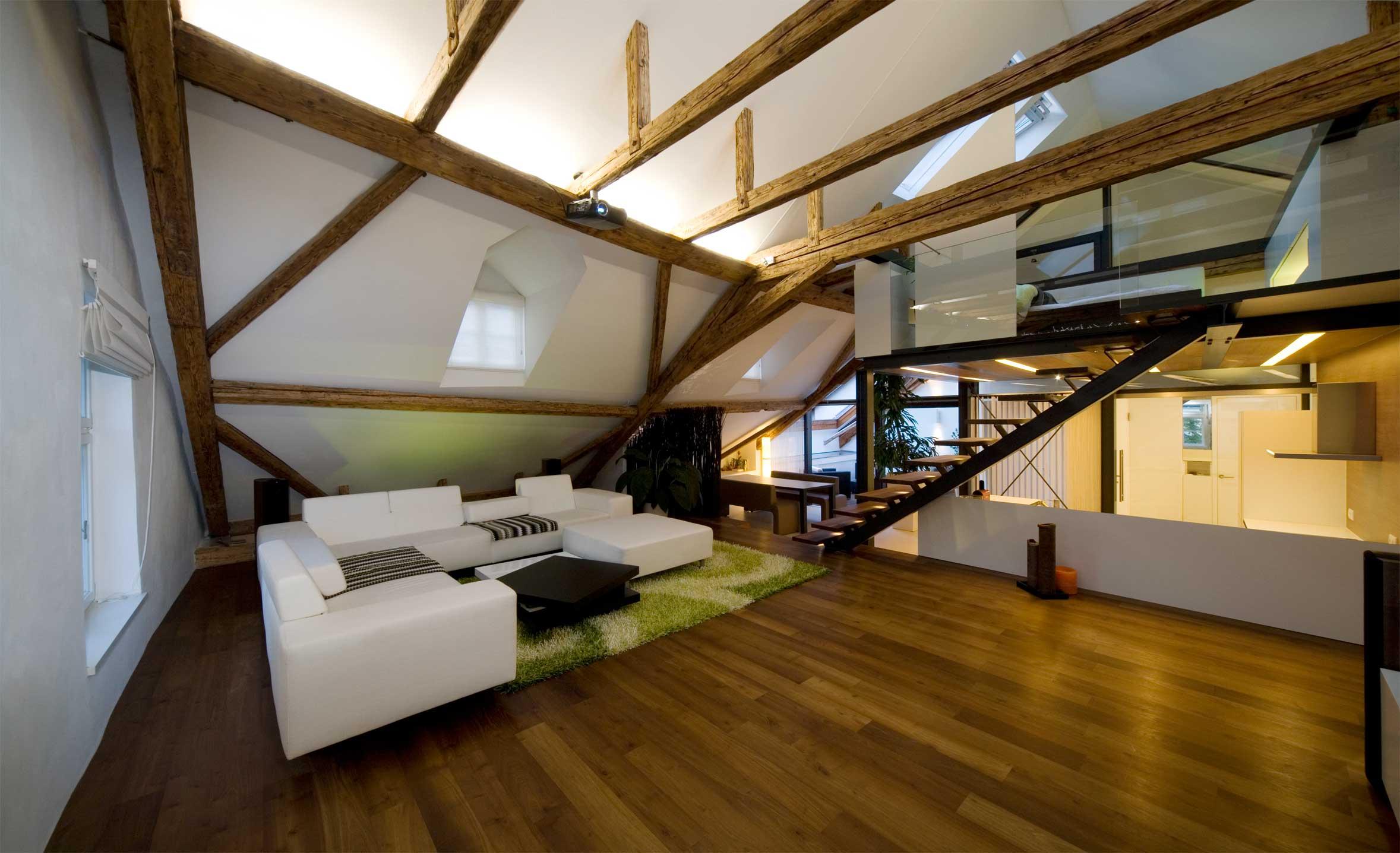 dachboden hall | roeck architekten