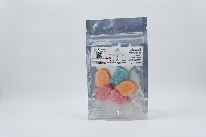 Anointed Full-Spectrum CBD Gummies