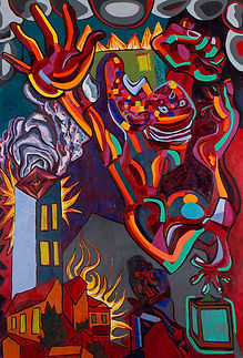 """""""I Exist Therefore I Am"""" Paintings by Benito Esquenazi"""