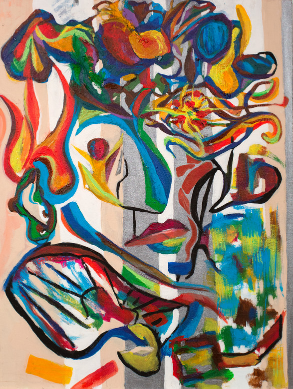 """Select to View """"Mademoiselle Matisse"""" Working Series"""