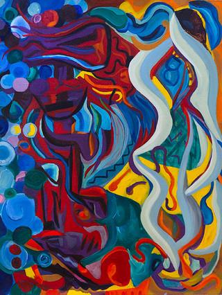 """""""Duo Series"""" Paintings"""