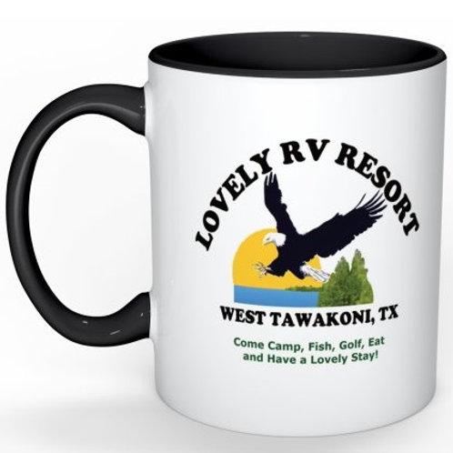 Lovely RV Resort Mug - Black