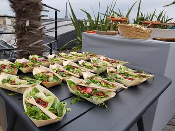 salad bateau