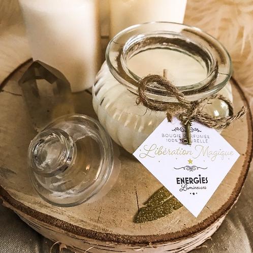 Libération Magique   Bougie Parfumée   100% cire de soja naturelle
