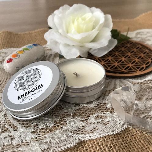 Pocket Fleur de Vie | Bougie Parfumée | 100% cire de soja naturelle