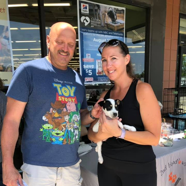Bruno was adopted 8-3-19