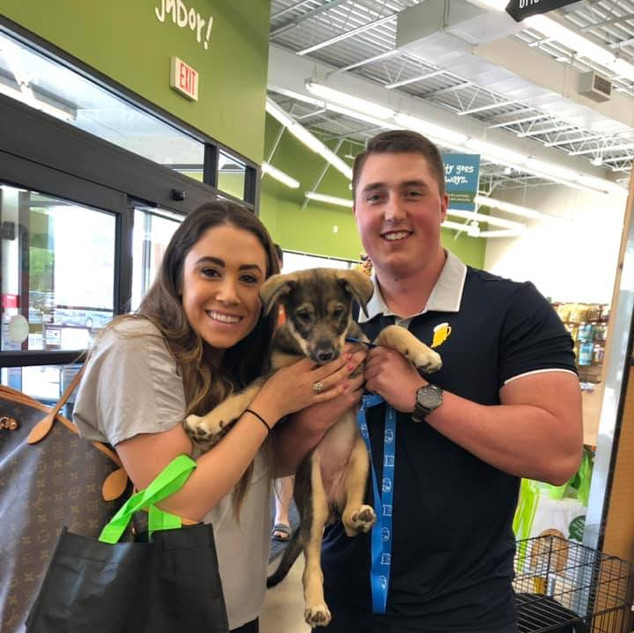 Bailey was adopted 6-29-19