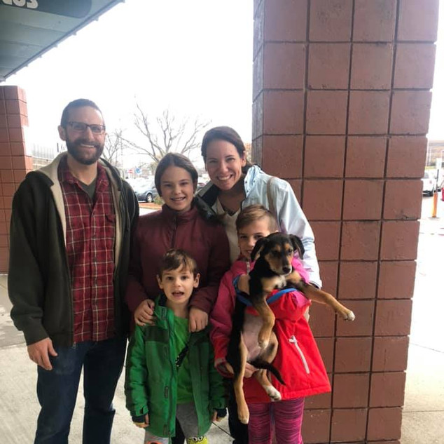 Sienna was adopted 11-23-19