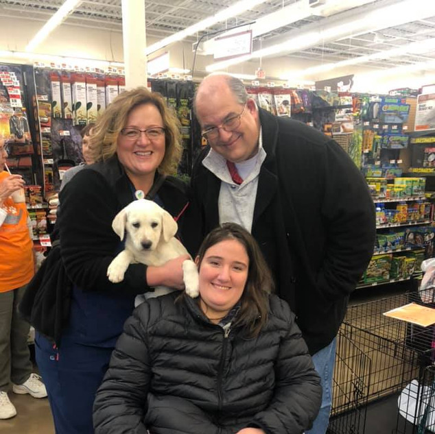 Belle was adopted 11-23-19