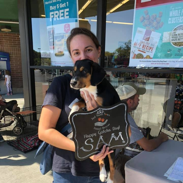 Sam was adopted 10-5-19