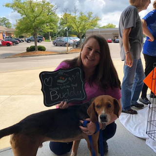 Buddy was adopted 9-7-19