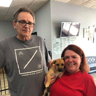 Ollie was adopted 8-19-19