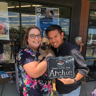 Archie was adopted 8-3-19