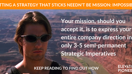 3 Proven Steps To Set Company Strategy Without Second-Guessing Yourself