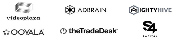 S4 Capital, MightyHive, The TradeDesk, Adbrain, Ooyala, Videoplaza