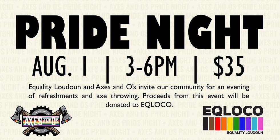 Pride Night at Axes and O's