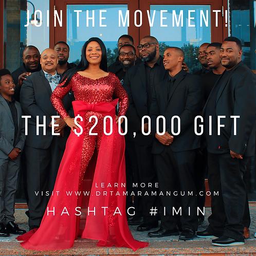 MM3F - $200K Gift