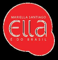 logomarca Ella é do Brsil Marilla