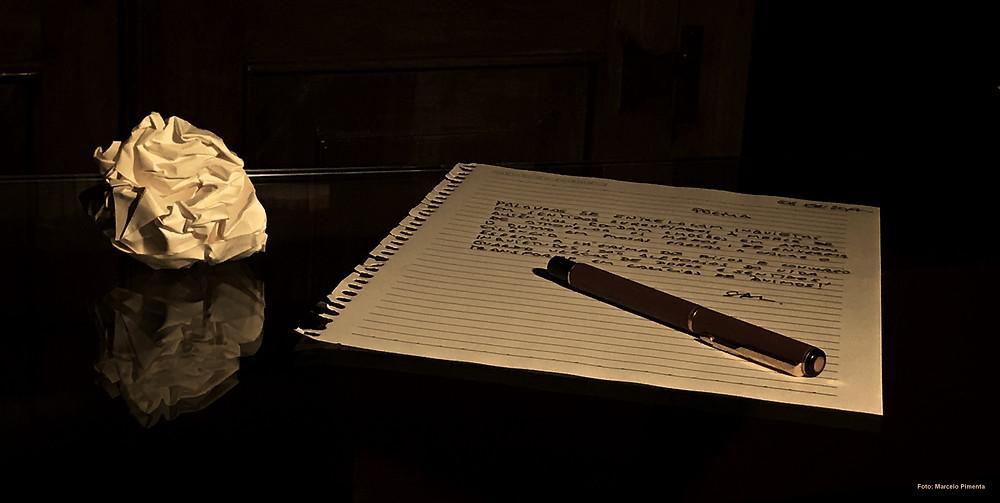 Dois Poemas (imagem: Marcelo Pimenta) Salssisne