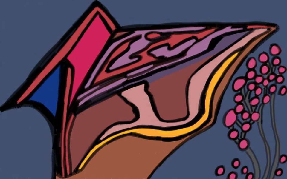 Ventos de abismo (imagem: Clara Meyer Cabral) Salssisne