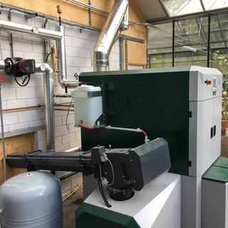 Installatie biomassainstallatie