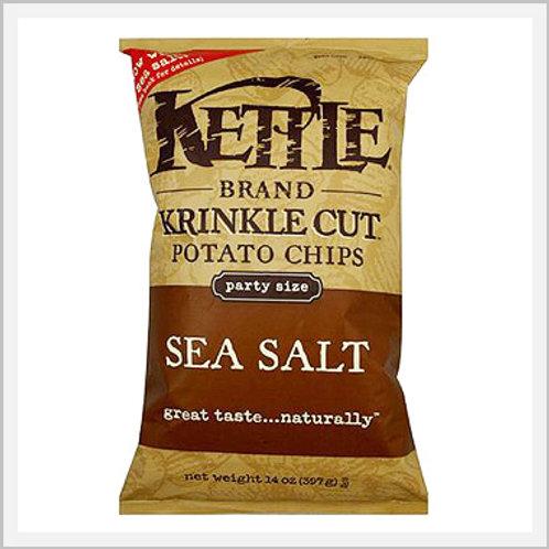 Kettle Sea Salt Potato Chips Gluten Free (907 g)