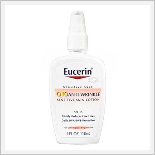 Eucerin Q10 Sensitive Skin Lotion SPF 15 (50 ml)