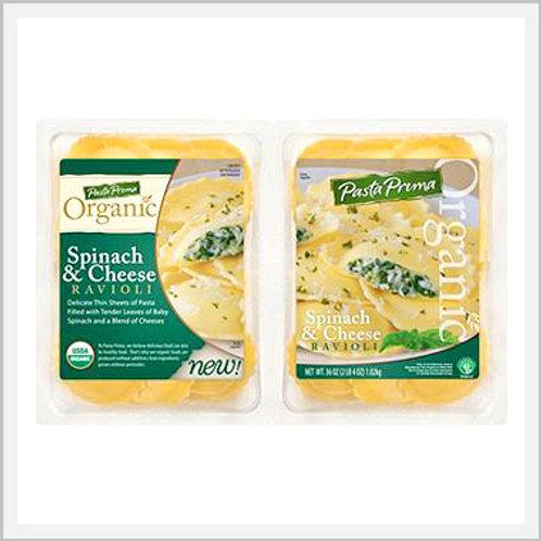 Spinach & Cheese Ravioli Organic (1.1 kg)